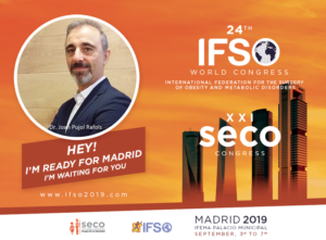 Dr. Pujol Cirujano bariátrico en el 24th IFSO WORLD CONGRESS