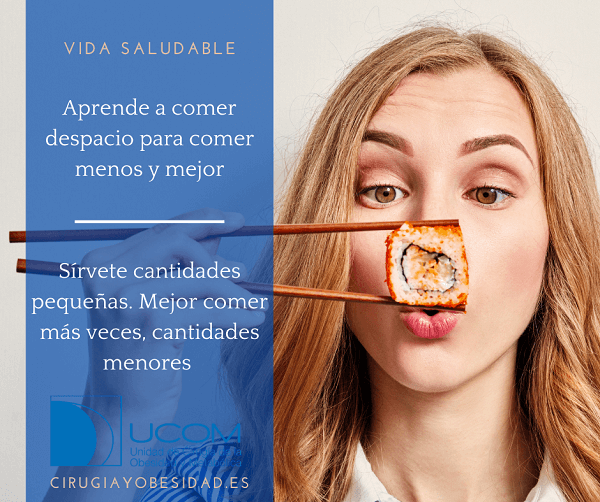 vida saludable: come despacio