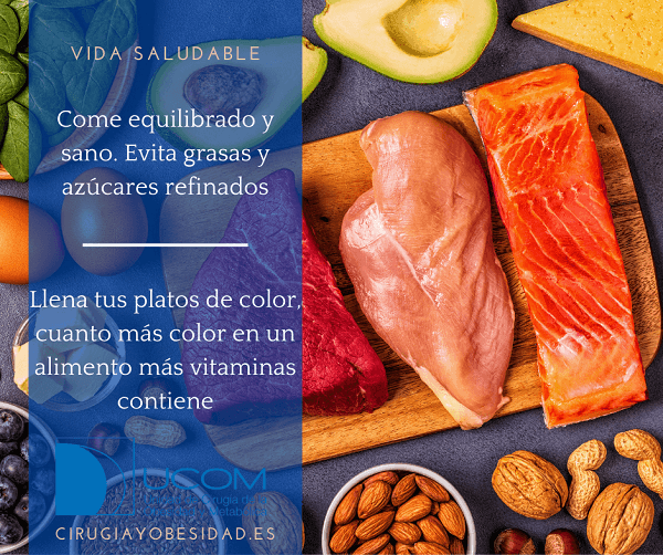 vida saludable: come sano