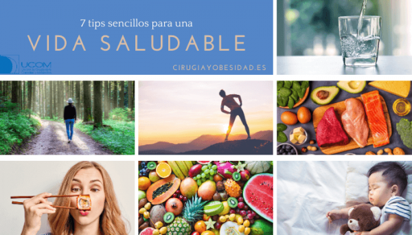 7 tips de vida saludable